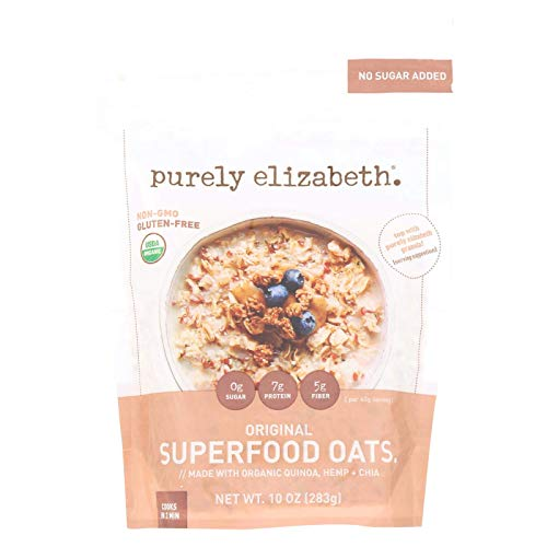 purely elizabeth Ancient Grain Oatmeal amp Hot Cereal  Original Packaging may vary10 oz