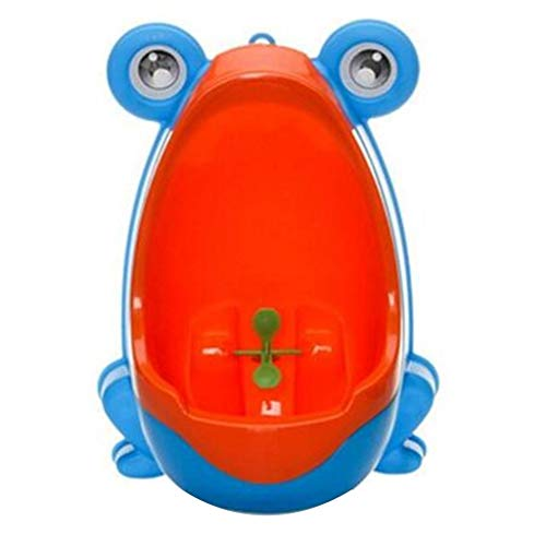 Pstars Frog Non-Odor Potty Training Urinal for Boys with Funny Aiming Target Portable Toilet Training Potty Urinal Pee Trainer Urine, Exercise Baby's Independence, Raise Baby's Health Awareness