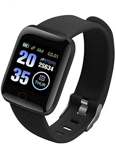 Rhobos [Today Only Sale] D116 Touchscreen Smart Watch Bluetooth Smartwatch with Heart Rate Sensor...