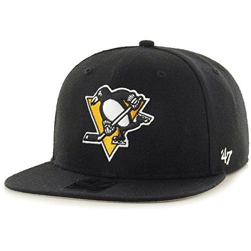 Gorra plana negra snapback de Pittsburgh Penguins NHL...