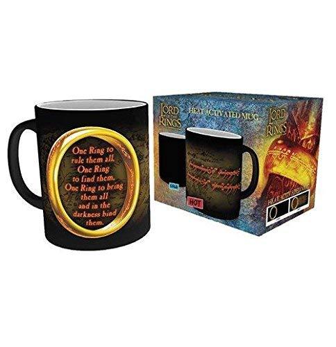 Der Herr der Ringe One Ring - Heat Change Mug Tasse Standard