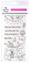 """My Favorite Things Stacey Yacula Stamps 4""""X8""""-Sending Sweet Celebration Wishes"""