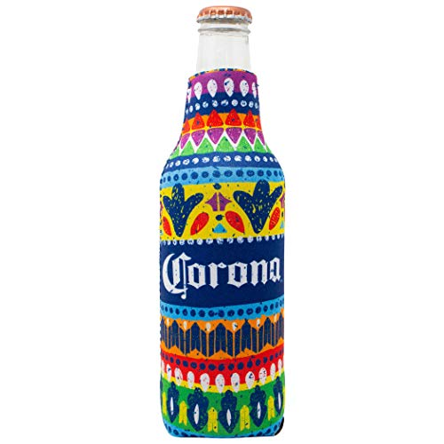 Corona Extra 12 Ounce Colorful Bottle Cooler.