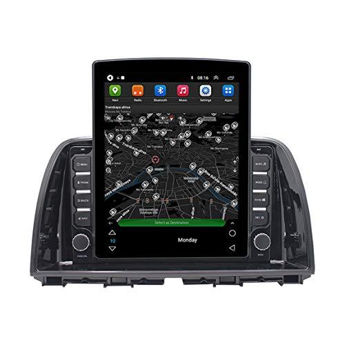 Sat Nav 9.7 Pulgadas Camión Satnav, Mensajes De Teléfono Inteligente, Cámara En Vivo Y Cámara De Velocidad, Adecuado para Mazda CX-5