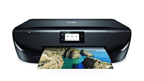 HP Envy 5030 – Impresora Multifunción Inalámbrica (Tinta, Wi-Fi, Copiar, Escanear, 1200 x 1200 PPP, Modo Silencioso, Incluido 3 Meses de HP Instant Ink) Color Negro