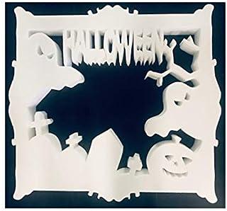 CORNICE SELFIE HALLOWEEN IN POLISTIROLO Cm 59 x 55 - HALLOWEEN -