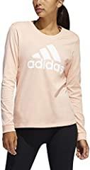 Adidas Basic Badge of Sport Tee Camiseta de Manga Larga para Mujer