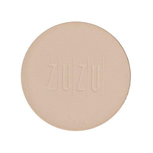 ZUZU LUXE Dual Powder Foundation Refills (D -4 Refill)0.32 oz, Pressed mineral powder, medium to full coverage, natural finish. Natural, Paraben Free, Vegan, Gluten-free, Cruelty-free, Non GMO.