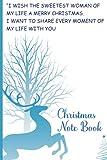 Christmas Notebook: Holiday shopping tracker, holiday shopping gift list tracker, Holiday shopping gift list planner, Christmas gift list tracker book