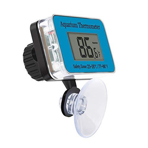 SALAMOPH Tauchen Aquarium Thermometer Aquarium Thermometer Digitale Temperaturanzeige Instrument