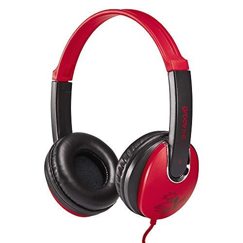 Groov-e Kidz On-Ear Headphones with Adjustable Headband, Soft Ear Pads,...