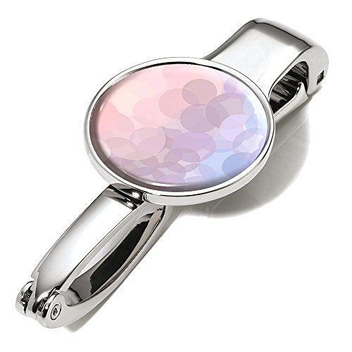 Troika Handtaschenhalter und -Clip, Motiv: Serenity Rose, hält bis zu 5 kg, Metall, glänzend, Mehrfarbig