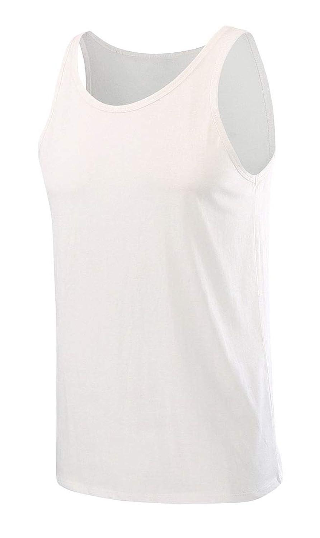 maweisong メンズノースリーブジムトレーニングストリンガータンクトップボディービルフィットネスTシャツ
