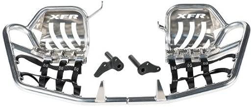 XFR - Pro-Series II Foot Peg Nerf Bars W Heel Guards Yamaha Blaster 200 2003-2006