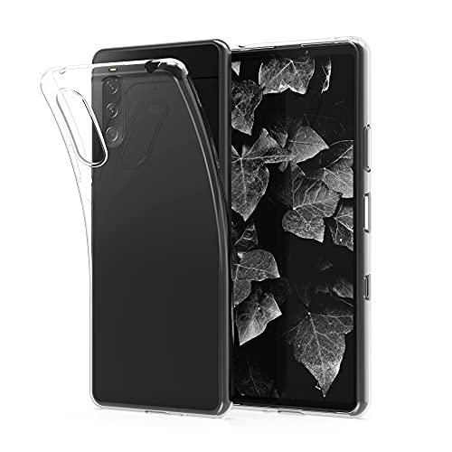 kwmobile Hülle kompatibel mit Sony Xperia 10 III - Hülle Handy - Handyhülle in Transparent
