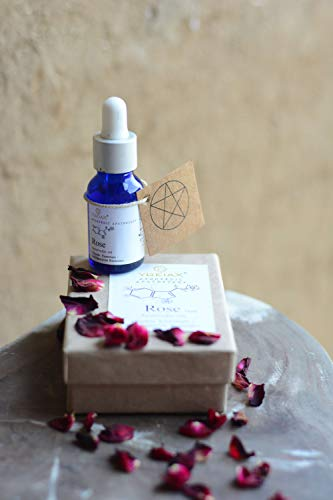 Edible Rose Essential Oil -Depression Remedy-Natural Mood Stabiliser-Natural Stress Relief-Rose Essential Oil Organic- Ingestible Essential Oils- Ayurveda 15Ml By Ygeiax