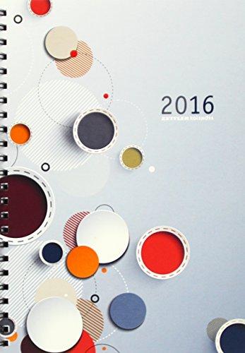 Zettler 766-1140 Buch- und Spiralbuchkalender Wochenbuch 15 x 21 cm 1W/2S