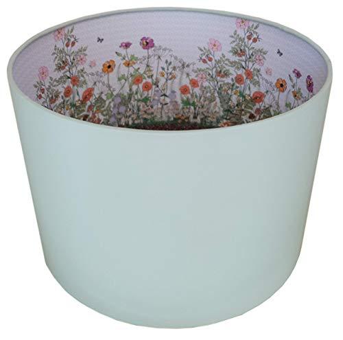 Wildblume Lampenschirm MollyMac   Bunte landschaft hecke   21 x 30 cm   Decke oder Lampensockel   Vielseitiges Zuhause   Landhaus
