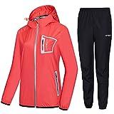 HOTSUIT Sauna Suit Women Durable Boxing Sweat Suits Gym Workout Exercise Sauna Jacket, Pink, XL