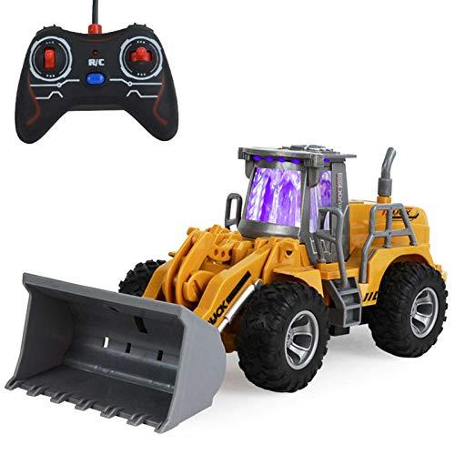 Bulldozer De Juguete con Control Remoto, Cargador Frontal Funcional Completo De 5...
