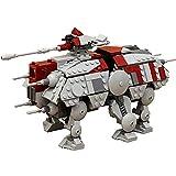 Walking AT-TE Mech Model, Star Wars Series 556 Juego Construcción de Piezas Modelo Exclusivo Coleccionista de MOC, Compatible con Lego Star Wars