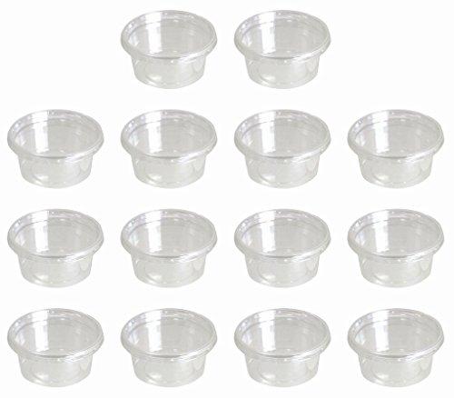 日本製 フタ付 デザートカップ サラダカップ プラスチック 製 14個 セット 200ml 200X14