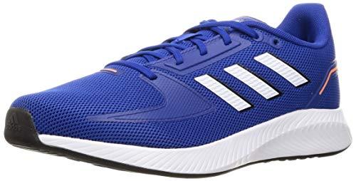 adidas Men's RUNFALCON 2.0 Running Shoe, Team Royal Blue FTWR White Core Black, 9 UK