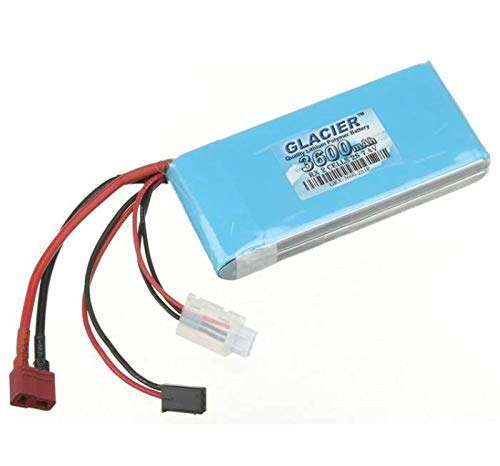 Glacier 3600mAh 2S 7.4V LiPo Receiver Battery