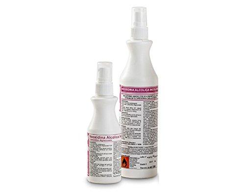 Neoxidina alcolica e incolore 250 ml spray disinfettante a base di clorexidina (0,5%)