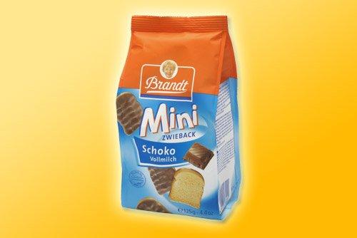 Brandt Mini Zwieback Schoko Vollmilch