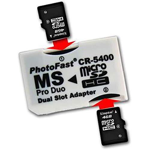 SATYCON Adaptador MICROSD A Memory Stick Pro Duo - Dual