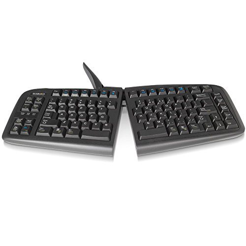 Goldtouch GTN-0099 V2 Adjustable Ergonomic Keyboard -- PC Only (USB & PS2)