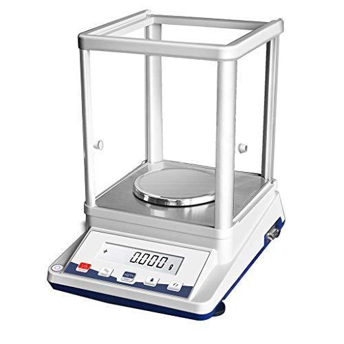WBDZ Balanza de Laboratorio, 310 g-0,001 g Básculas de joyería de Alta precisión Balanza electrónica analítica precisa Básculas de Laboratorio (210 g * 0,001 g) Pesar Electrodomésticos mecánic