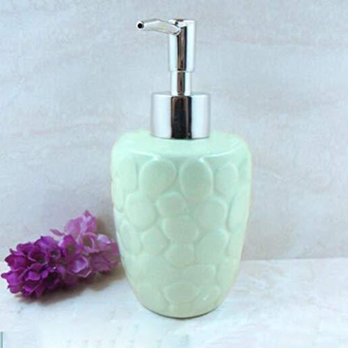 Pangyoo PYouo- Dosificador Jabón, Jabón Alimentador del jabón líquido, Bomba de líquido de baño Mano dispensador de jabón, de Textura única Mano dispensador de jabón, Accesorios de encimera