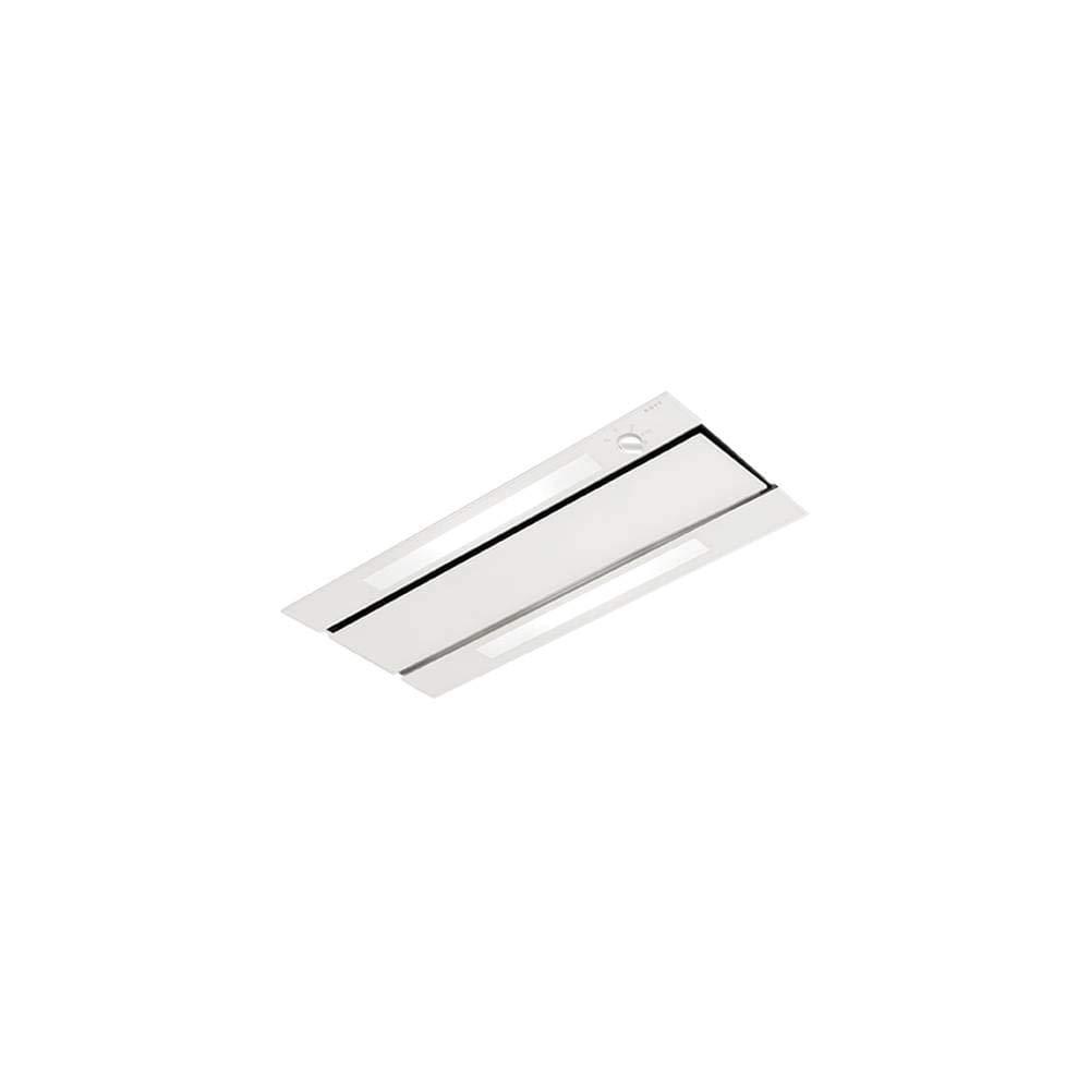 NOVY 877 - Campana (500 m³/h, Canalizado, 59 dB, De techo, Transparente, Blanco, Vidrio, Acero inoxidable): Amazon.es: Hogar