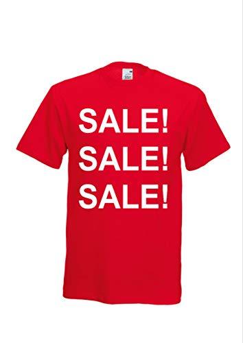 VERKOOP VERKOOP POS Display, Kantoor, Winkel, Outlet, Evenement, Clearance, Promotionele Aanbieding, Werkkleding, 3XL, Rood