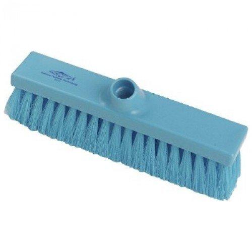 Janitorial Express hp021-b Premier igiene piatto spazzare scopa morbida, 280mm, blu
