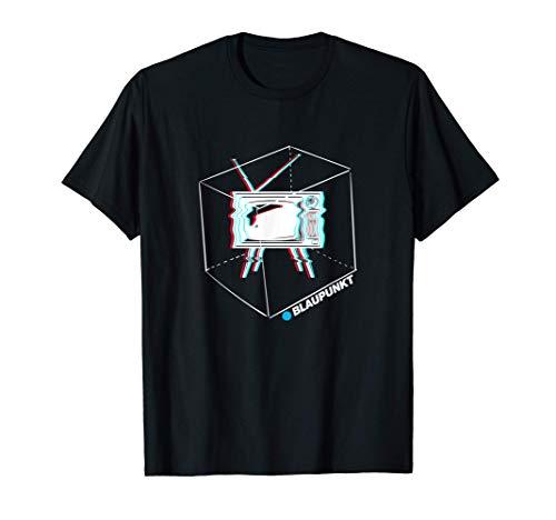 Blaupunkt Retro Glitch TV Set Official T-Shirt