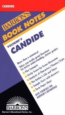 Voltaire's Candide: Barron's Book Notes
