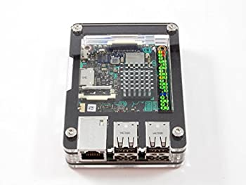 Zebra Black Ice Case for The ASUS Tinker Board and Tinker Board S by C4Labs