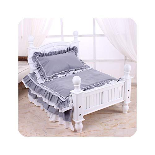 Almighty-shop - Cuccia per Cani, in Legno Massiccio, Colore: Bianco, Bed And Bedding, Kl574p Sweatshirt - Bambini