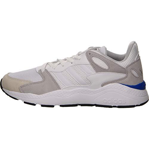 Adidas CRAZYCHAOS, Zapatillas de Trail Running Hombre, Blanco (Ftwbla/Ftwbla/Gridos 000), 47 1/3 EU