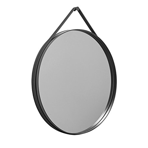 HAY strap spiegel Ø 70cm, antraciet Ø 70cm