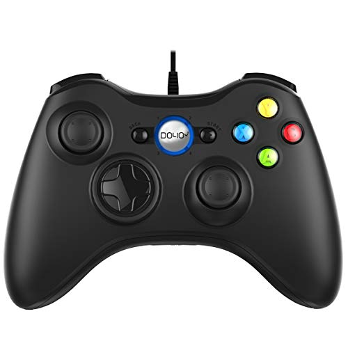 Wired Game Controller PC Joystick for Computer (Windows XP/7/8/10) / PS3 / Android Gaming Vibration Feedback Steam Controller
