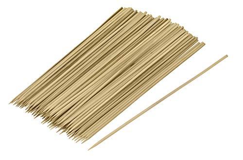 KTX7® Bambus Schaschlickspieße 25cm - 100 Stück