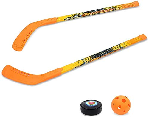 Hockey Dryland Grass Puck Eishockey Kinder Eishockey Spielzeug Set Dryland Hockey Stick Kunststoff Kinder Outdoor Freizeit Sport Set