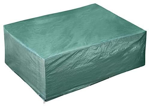 GardenMate® 250x200x80cm Schutzhülle für Gartenmöbel - Premiumqualität aus 120gsm PE Gewebe