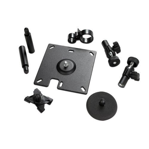 APC Surface Mounting Brackets for NetBotz Room Monitor Appliance/Camera Pod Negro - Soporte de Pared para Pantalla Plana (Negro, 79 mm, 105 mm, 64 mm, 430 g, 600 g)
