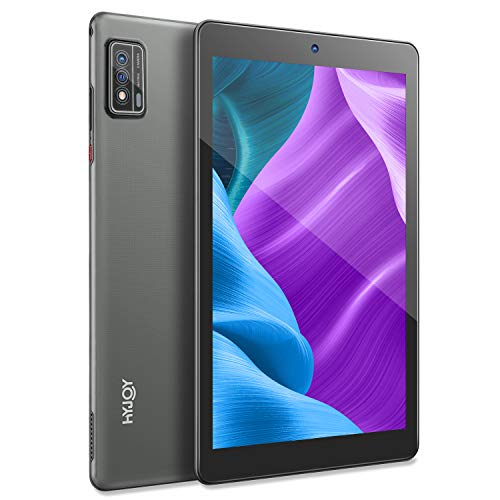 Tablet 9 Zoll Android 10.0 Tablets 1280 x 800 HD IPS Display 1.6 GHz Quad Core Prozessor 2GB RAM 34GB ROM Tablet (Tablet, Silver)