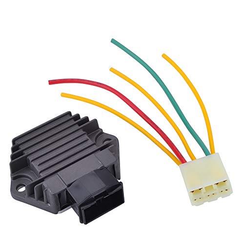 YHC SH691 Regulador de voltaje Rectificador de corriente para HONDA CBR 250 400 CBR600 F CBR900 SHUFT750 CB250 CB400 CB500 CB600 Hornet Reguladores de voltaje rectificadores